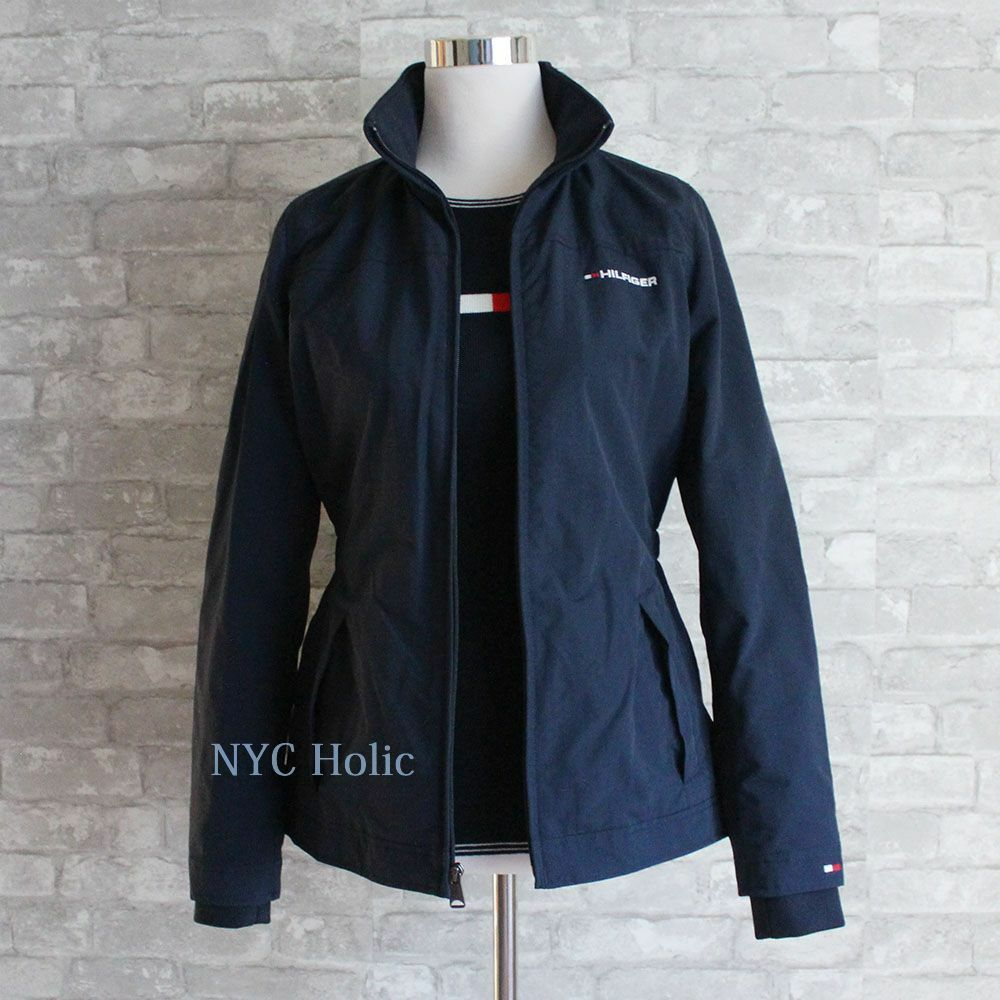 Details about New Tommy Hilfiger Womens Yacht Jacket Windbreaker Water Resistant Nylon