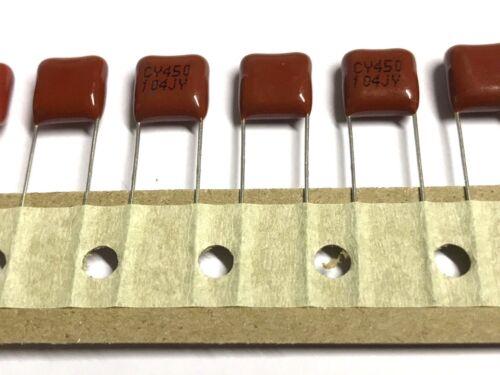 MKT 10/% 100nF Radial,15 Stück XINYUAN ELECTRONIC 0,1uF RM7,5 450V- 0,1µF