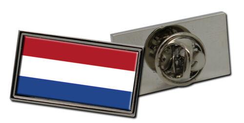 Netherlands Flag Lapel Pin Badge