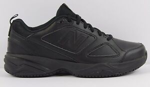 Mens New Balance MID626K2 Non Skid Slip Resistant Work Shoes MED or WIDE BLACK