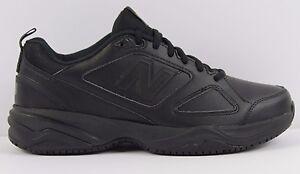 Mens New Balance MID626K2 Non Skid Slip Resistant Work Shoes MED or WIDE BLACK