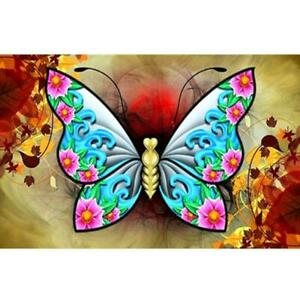 Full Drill Owl Butterfly 5D Diamond Painting Embroidery Cross Stitch Kit DIY