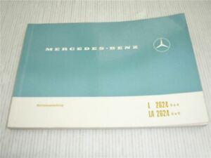 Betriebsanleitung-Mercedes-Benz-2624-L-LA-6x4-6x6-LKW-Stand-1970
