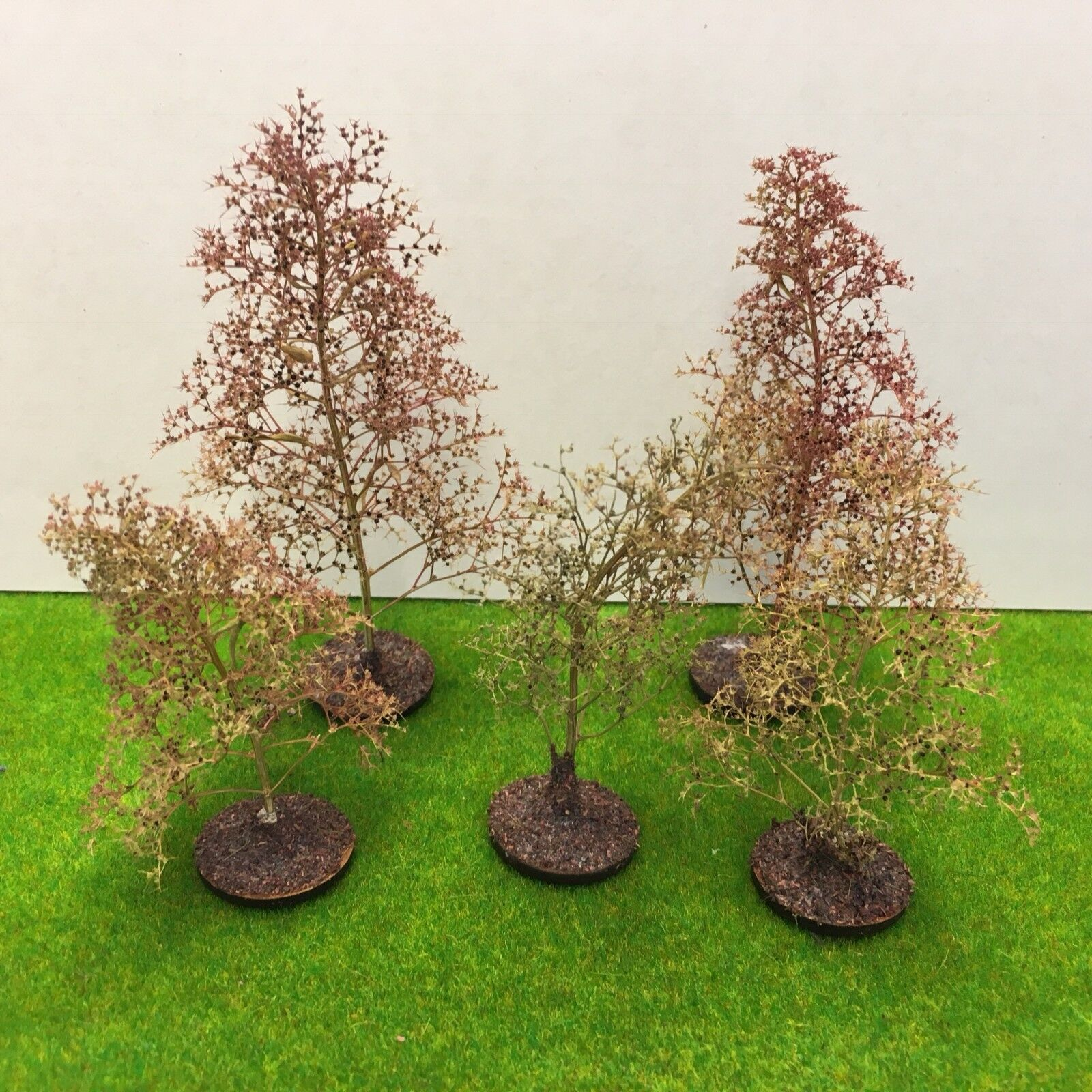 Natural Precision Trees 16-20cm - Seafoam Model Scenery Railway Wargame  Woods