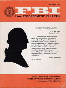 FBI Law Enforcement Bulletin November 1970