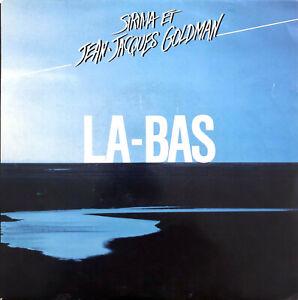 """Sirima Et Jean-Jacques Goldman 7"""" La-Bas - France (VG+/EX)"""