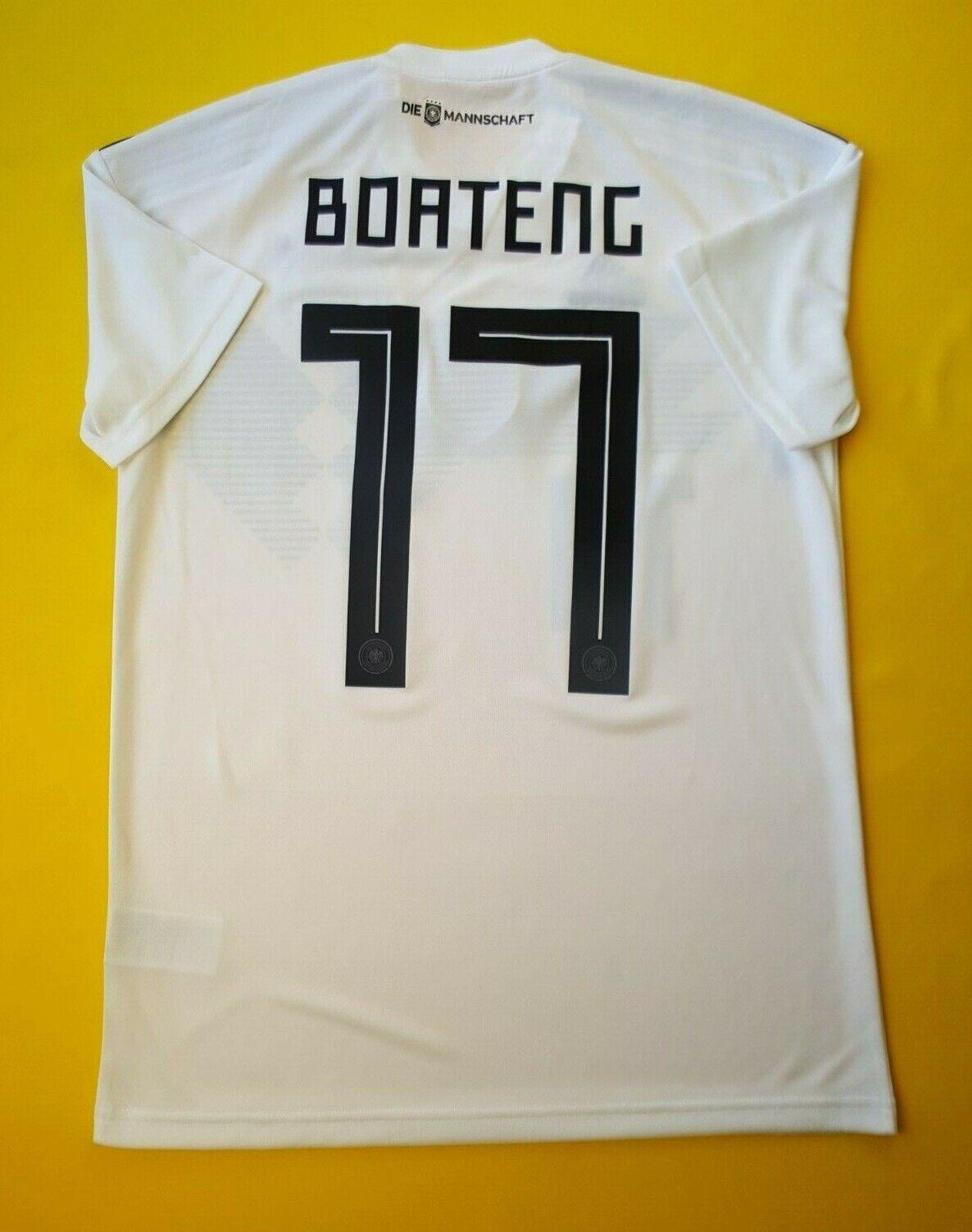 7e2ba9df151 Boateng Germany soccer jersey small 2019 home shirt BR7843 Adidas ig93 5 5