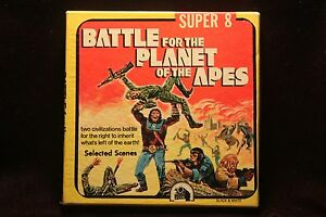 Battle-For-The-Planet-Of-The-Apes-Super-8mm-200-039-Reel-CRISPY-EXCELLENT