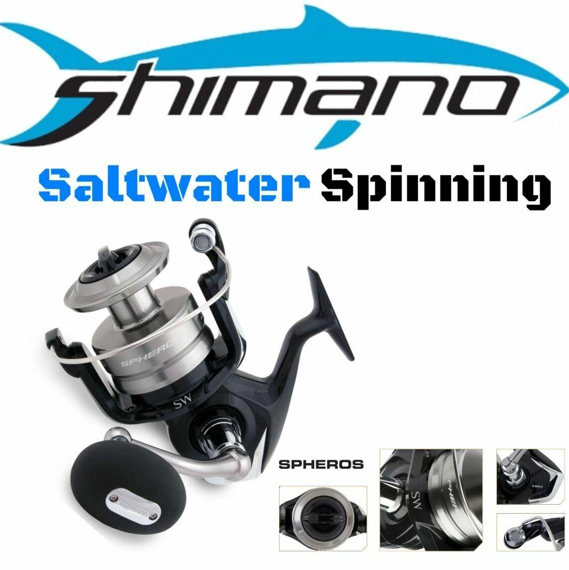 Shimano Saltwater spinning Reel spheros sw6000-sw20000