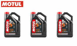 3-LT-OLIO-MOTORE-MOTUL-7100-10W40-Lubrificante-sintetico-per-MOTO-E-SCOOTER