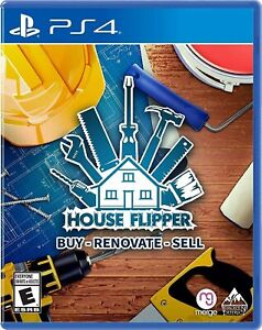 House-Flipper-Sony-PlayStation-4-PS4-Home-Renovation-Simulation-Everyone-NEW