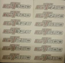 SUZUKI GT100 GT185 GT125 GT250 GT380 GT550 GT750 SIDE PANEL DECAL BADGE