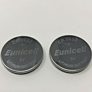 Details About 2 X Ford Focus Escort Remote Central Locking Key Fob Battery Batteries Cr2032