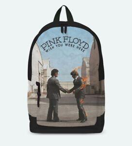 "PINK FLOYD /""WISH YOU WERE HERE/' ROCKSAX RUCKSACK BACKPACK SKATE BAG"