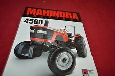 Mahindra 4500 Tractor Dealer's Brochure YABE12