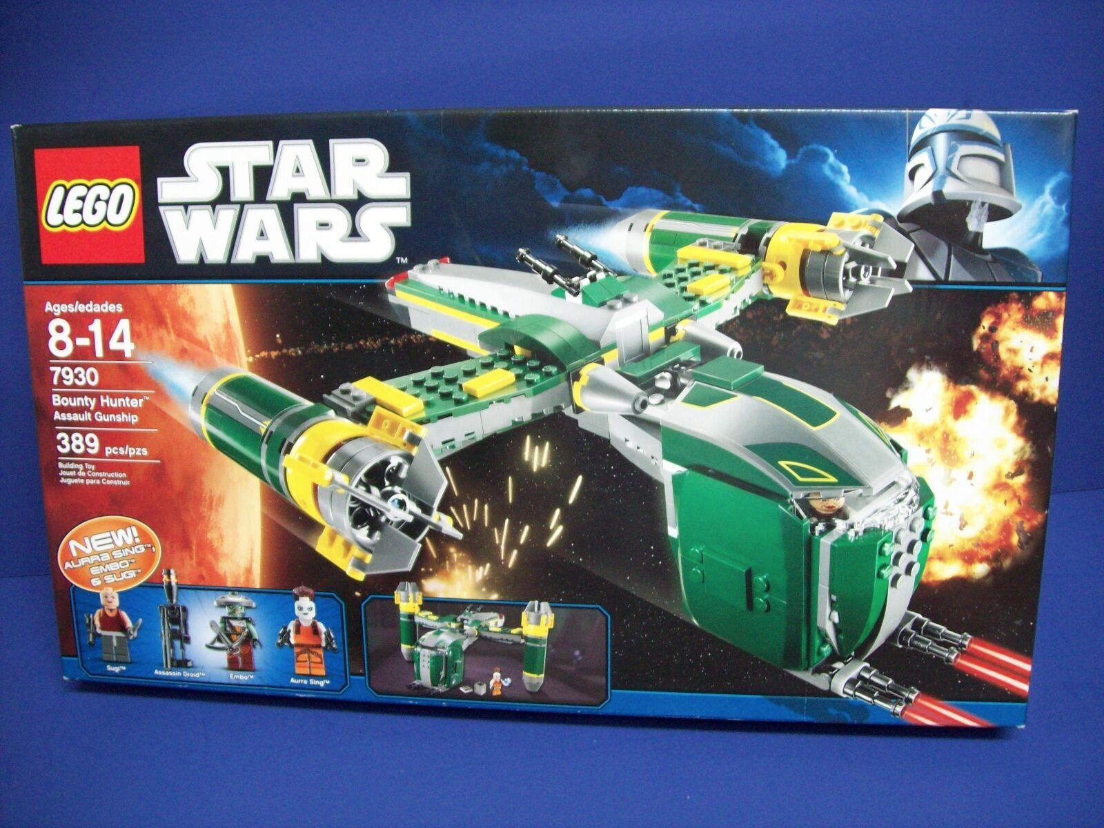 Lego 7930 Star Wars ~ Jedi Cacciatore di Taglie Assalto Cannoniera ~ Nuovo