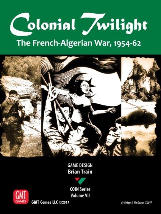 PIÈCE DE MONNAIE VII  Colonial Twilight  Français-algérien War,jeu de société by