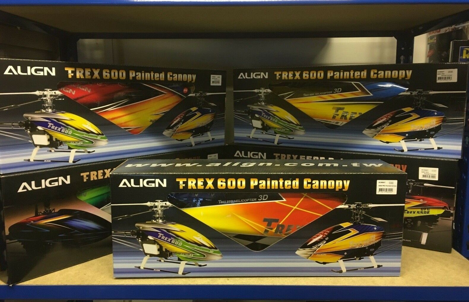 Genuine Align Trex Canopies - Choice of canopies available - RC Heli Spares