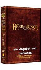 DER HERR DER RINGE - DIE ZWEI TÜRME | Special Extended Edition 4 DVDs #ZZ