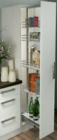 Larder Unit, Centre Mounting, Height Adjustable (1700-2200 Mm) With Soft Close