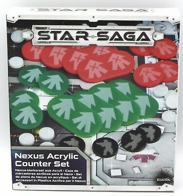 Nexus Acrylic Counter Set MGSS307 Mantic Games Star Saga