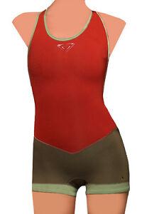 NEW ROXY XY SPRINGSUIT 4 WETSUIT WOMEN SWIMSUIT 2/2 NEOPRENE RED SYNCRO