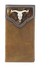 Nocona Western Youth Wallet Rodeo Longhorn Skull Saddle N5437644