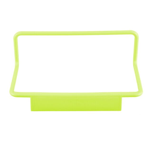 Home Kitchen Single Bar Towel Rack Plastic Traceless Cloth Hanger Towel one