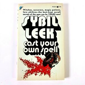 RARE-amp-SCARCE-Cast-Your-Own-Spell-by-Sybil-Leek-1st-Edition-Paperback-1970