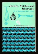 CHICAGO IL~JEWELRY, WATCHES AND SILVERWARE-EV RODDIN CO 1895 HISTORICAL CATALOG