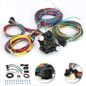 21 circuit wiring harness car hot rod street rod rat rod chevy ford  universal   ebay  ebay