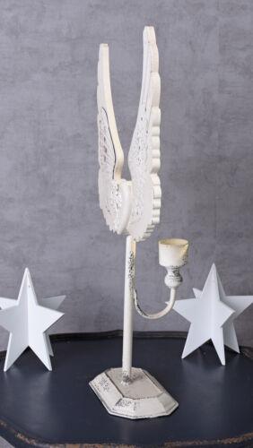 Kerzenleuchter Kerzenhalter Engelsflügel Leuchter Flügel Kandelaber Shabby Chic