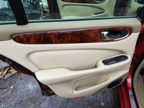2004-2005-2006-2007-2008-2009 JAGUAR XJ8 LEFT REAR INTERIOR DOOR PANEL ADX