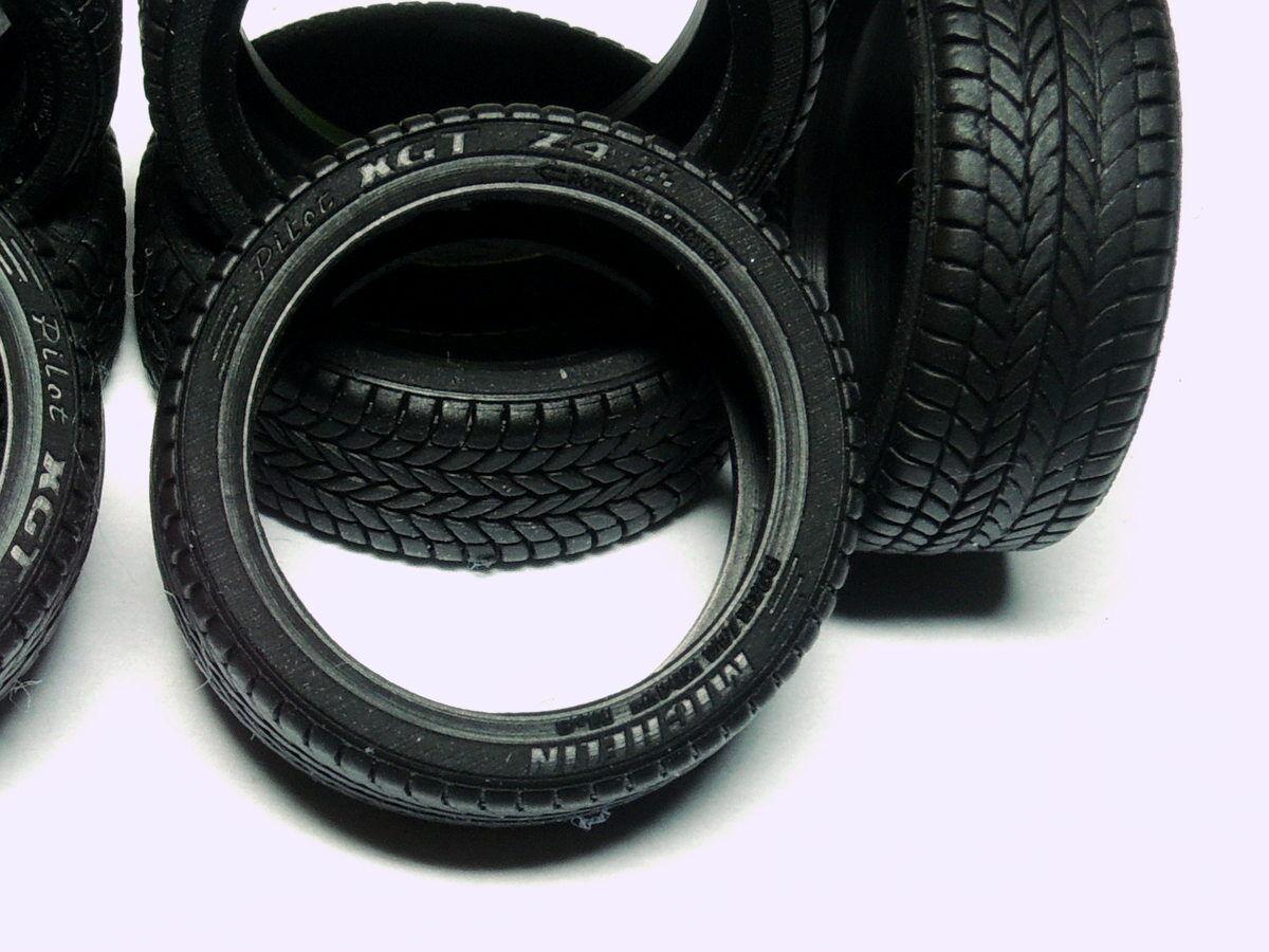 Ø15 mm 1/43 Sport Neumáticos (200 piezas), extendida detalisation, ruedas de goma real