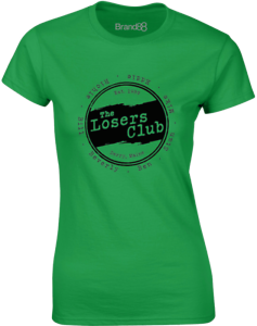 The-Losers-Club-Ladies-Casual-Printed-T-Shirt-100-Cotton-Short-Sleeve-Women-Tee