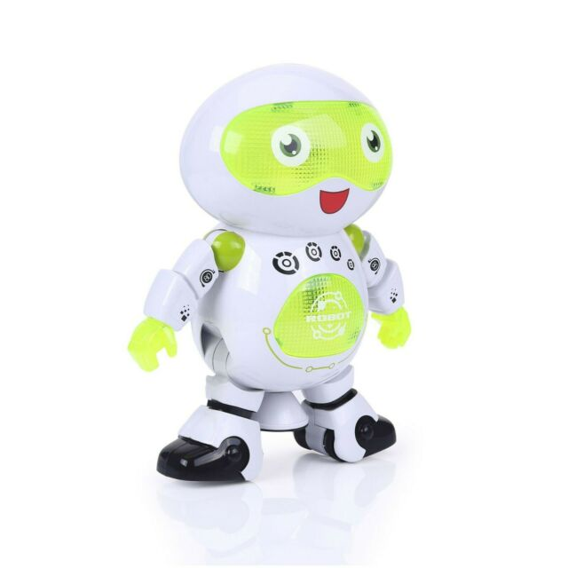 Educational dancing kids robot toy with light | eBay