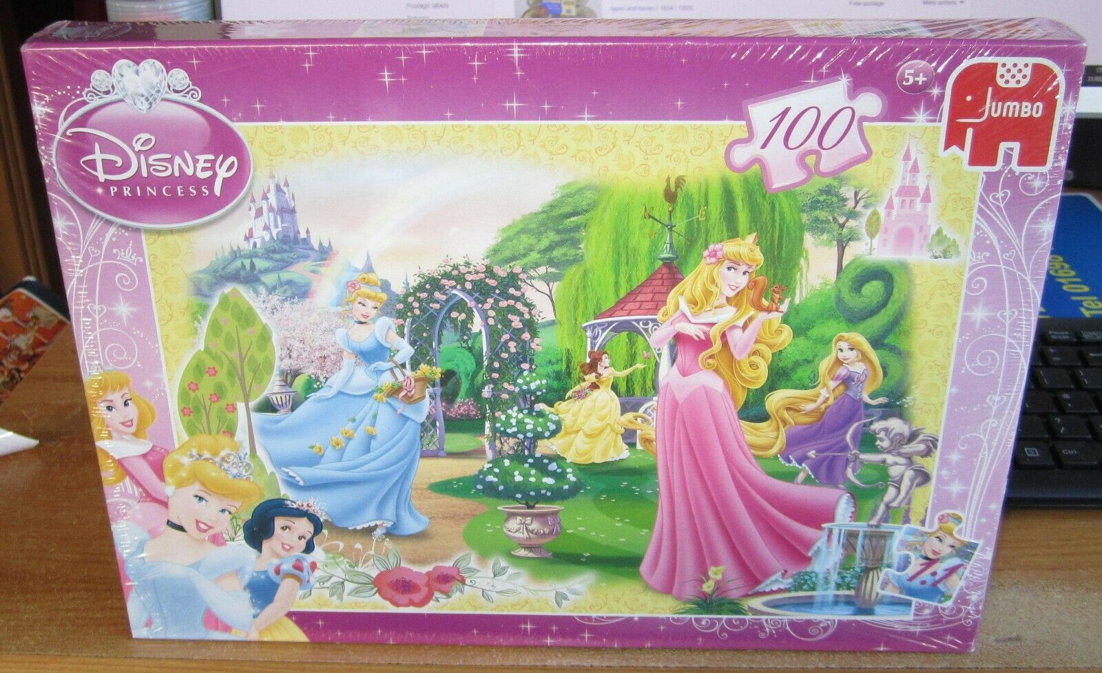 Disney Princess 100 Piece Jumbo Jigsaw