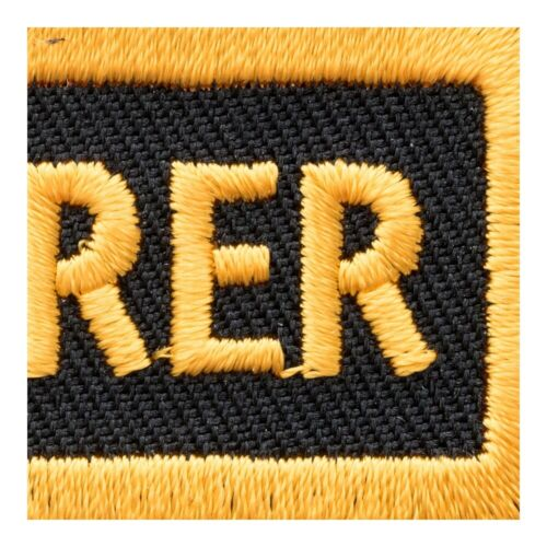 Treasurer Yellow Patch Club Rank Patches
