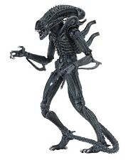 """Alien-  7"""" Scale Action Figures - Ultimate - (1986) Blue Alien Warrior -NECA"""