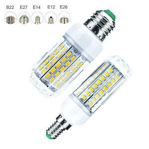 Dimmable-LED-Corn-Light-Bulbs-E27-E12-E14-5730-SMD-30W-100W-Equivalent-Lamp-ST