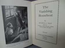 THE VANISHING HOUSEBOAT by Mildred A Wirt 1939