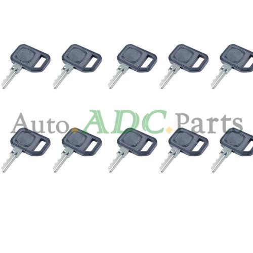10pcs Keys AM131841 for John Deere LX Series Lawn Tractors LX172 LX173 LX176