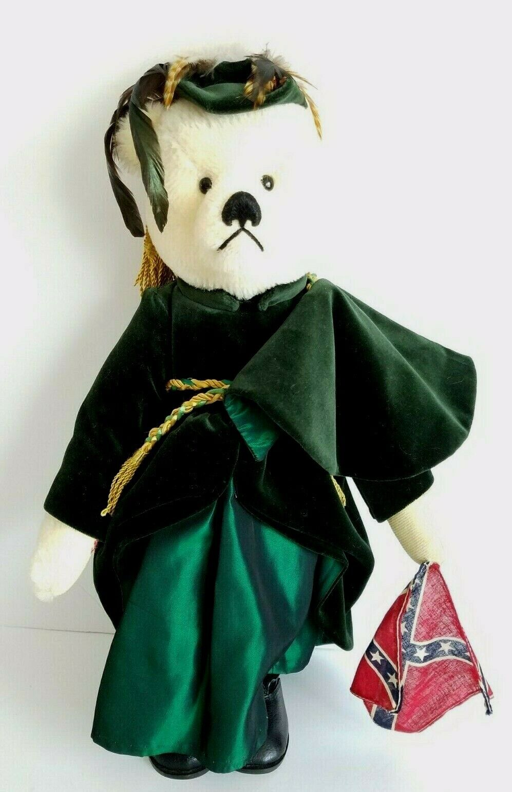 GARY NETT GONE WITH THE WIND SCARLETT O'HARA MOHAIR LIMITED EDITION  4 BEAR
