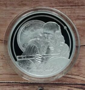 2021 Niue Galileo Icons of Inspiration 1oz Silver bulion coin low 10,000 mintage