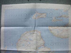 Map Norway Kart Norge 1 50000 Four Sheets 1119 I Ii Iii Iv Alesund