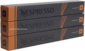 30 new nespresso caramelito pods capsules variations range uk ebay. Black Bedroom Furniture Sets. Home Design Ideas