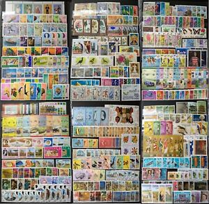 Worldwide-Stamp-Collection-MNH-250-Full-Sets-from-250-Different-Countries-Gift