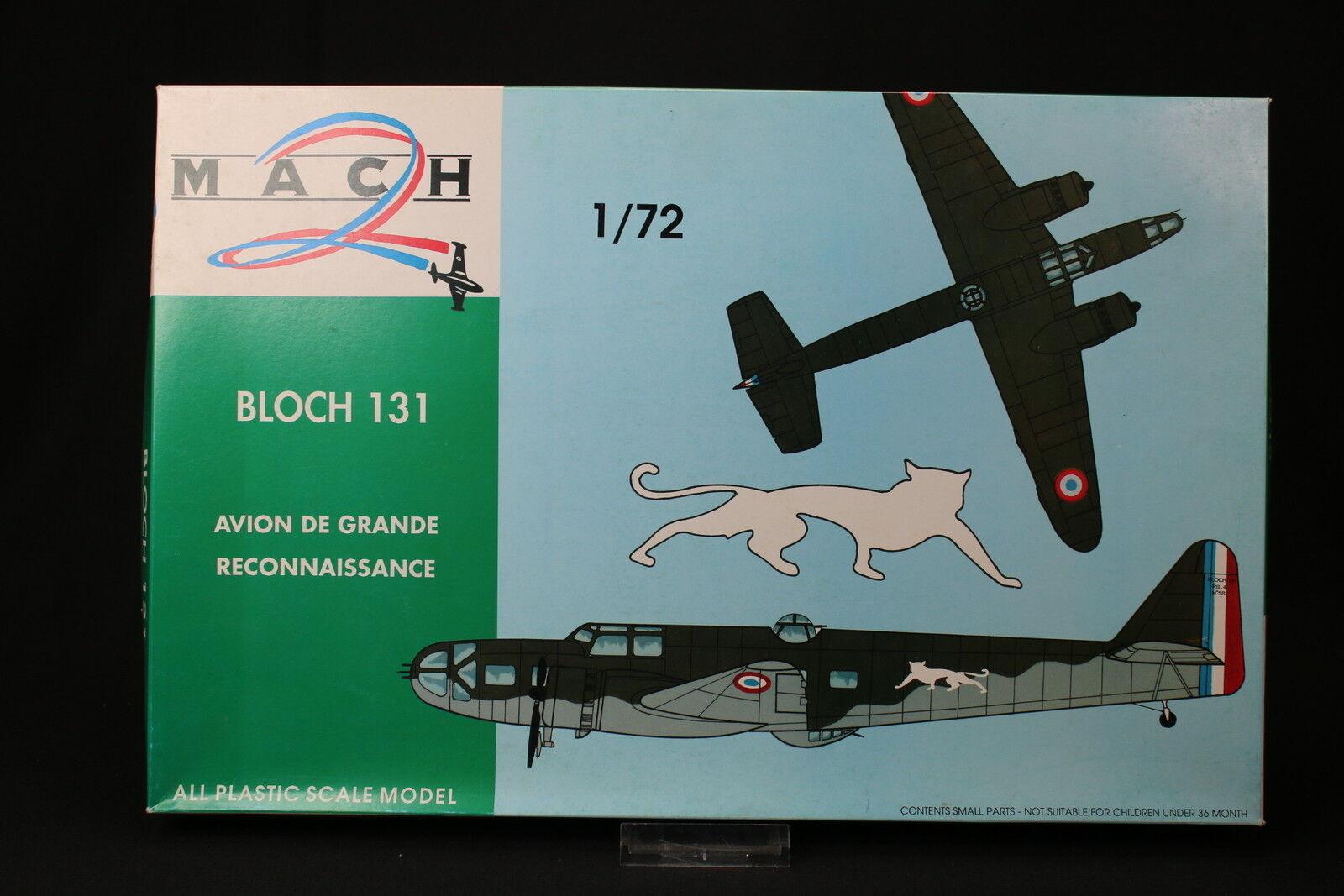 YU054 MACH 2 1 72 maquette avion GP 014 Bloch 131