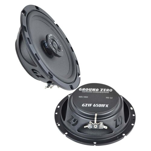 91-98 Front t92 Ground Zero altavoces 165mm coaxial plana para Opel Astra F