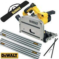 Dewalt Dws520kr2-gb Dws520k 240v Plunge Saw + 2 X 1.5m Rail + Rail Bag + Joiner